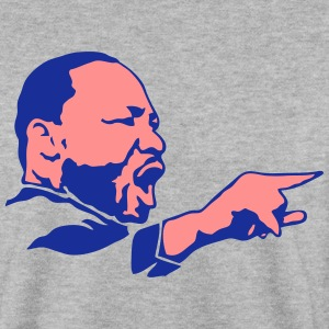 martin luther king visage leader politiq Sweat-shirts - Sweat-shirt Homme