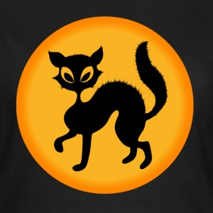 halloween-cat T-Shirts - Frauen T-Shirt