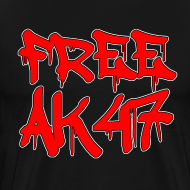 Design ~ Free AK47 Men's T-Shirt