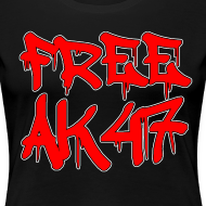 Design ~ Free AK47 Women's T-Shirt