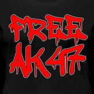 Design ~ Free AK47 Women's T-Shirt