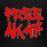 Design ~ Free AK47 Big & Tall T-Shirt