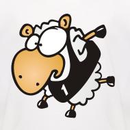 Motiv ~ Lauf Schäfchen Sport T-Shirt