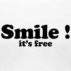 smile it's free Tee shirts - T-shirt Premium Femme