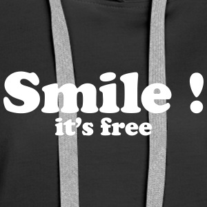 smile it's free Pullover & Hoodies - Frauen Premium Hoodie