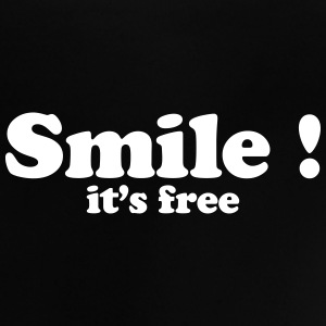 smile it's free Tee shirts - T-shirt Bébé