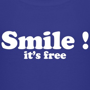 smile it's free Shirts - Kids' Premium T-Shirt