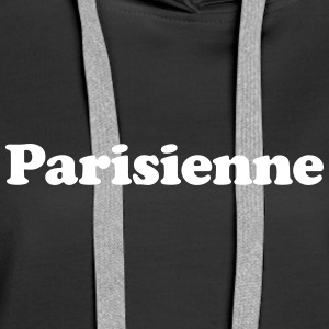 parisienne Sweat-shirts - Sweat-shirt à capuche Premium pour femmes