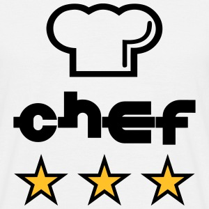 Chef Tee shirts - T-shirt Homme