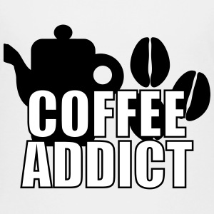 Coffee Addict T-Shirts - Teenager Premium T-Shirt