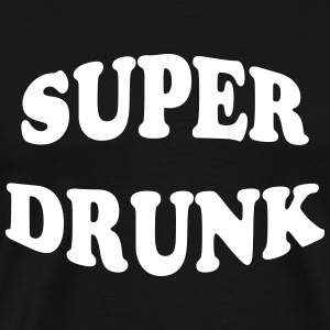 Super Drunk T-shirts - Herre premium T-shirt