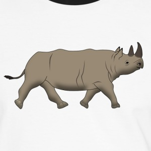 Rhino 2 T-Shirts - Men's Ringer Shirt