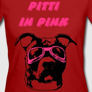 Pitti in pink T-Shirts - Frauen Bio-T-Shirt