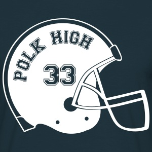 POLK HIGH Footballhelm Shirt - Männer T-Shirt