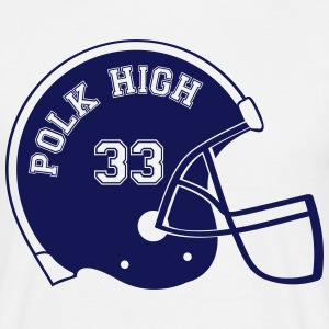 POLK HIGH Footballhelm T-shirts - Mannen T-shirt