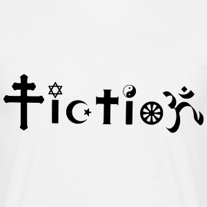 Fiction Atheist Design T-Shirts - Männer T-Shirt