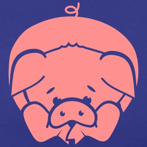 A little pig lying on the floor T-Shirts - Men's Premium T-Shirt