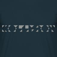 Motiv ~ Kollision Logo T-Shirt Male Navy