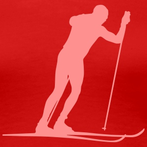 ski cross-country T-Shirts - Women's Premium T-Shirt
