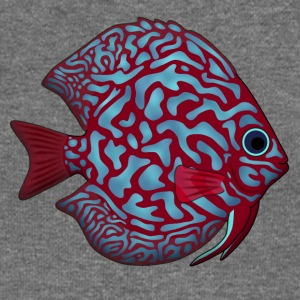 discus fish 1 Sweat-shirts - Pull Femme col bateau de Bella