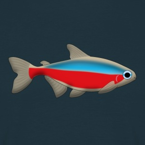 Neon fish Tee shirts - T-shirt Homme