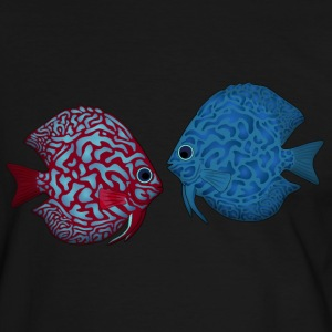 discus fish 2 T-Shirts - Men's Ringer Shirt