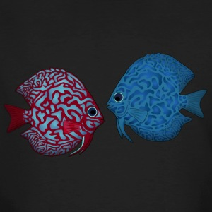 discus fish 2 T-Shirts - Men's Organic T-shirt