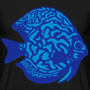 discus fish vektor T-Shirts - Men's T-Shirt