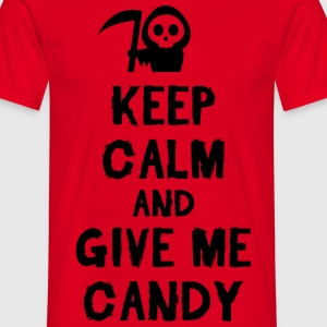 Keep cam and give me candy T-shirts - Mannen T-shirt