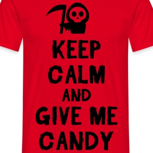Keep cam and give me candy T-shirts - T-shirt herr