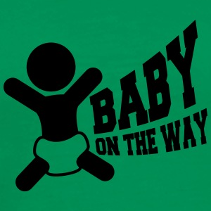 Baby On The Way T-shirts - Herre premium T-shirt