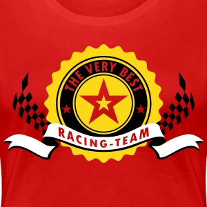 RACING TEAM - Frauen Premium T-Shirt