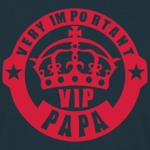 very important papa vip couronne logo 4 Tee shirts - T-shirt Homme