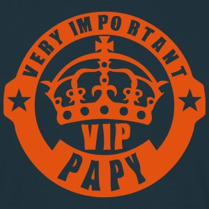 very important papy vip couronne logo 4 Tee shirts - T-shirt Homme