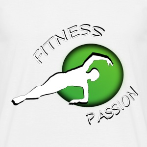 Fitness passion T-shirts - Herre-T-shirt