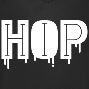 Cool And Stylish Hip Hop Design T-Shirts - Men's V-Neck T-Shirt