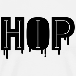 Cool and Stylish Hip Hop Design T-shirts - Premium-T-shirt herr