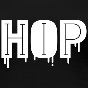 Cool And Stylish Hip Hop Design T-Shirts - Women's Premium T-Shirt