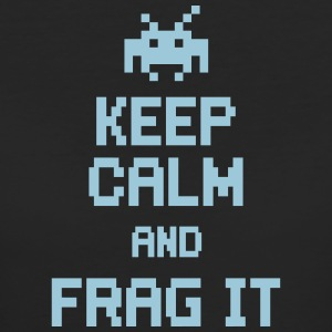 keep calm and frag it T-skjorter - Økologisk T-skjorte for kvinner