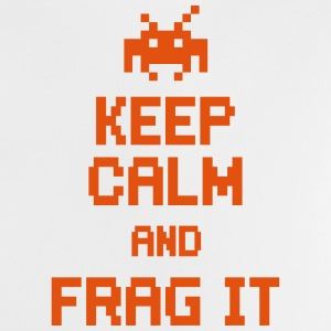 keep calm and frag it Shirts - Baby T-shirt