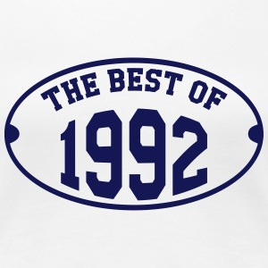 The Best of 1992 T-shirts - Vrouwen Premium T-shirt