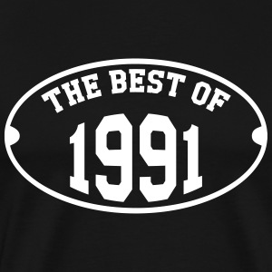 The Best of 1991 T-Shirts - Männer Premium T-Shirt