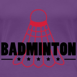 Badminton Icon T-Shirts - Women's Premium T-Shirt