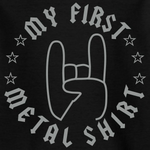 My First Metal Shirt T-Shirts - Kinder T-Shirt