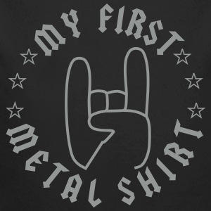 My First Metal Shirt Pullover & Hoodies - Baby Bio-Langarm-Body