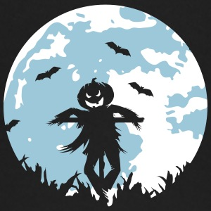 A pumpkin scarecrow in the cornfield and Moon Kids & Babies - Baby Long Sleeve T-Shirt