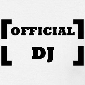 official dj - T-skjorte for menn