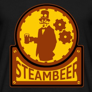 Steampunk beer Tee shirts - T-shirt Homme
