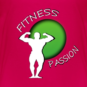 Fitness passion T-shirts - Børne premium T-shirt