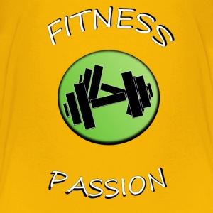 Fitness passion Shirts - Kids' Premium T-Shirt